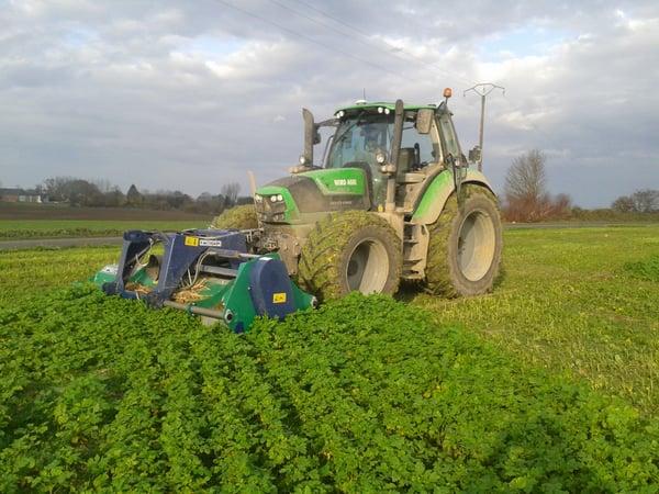 Broyage couvert végétal alternative glyphosate  Vincent GUYOT