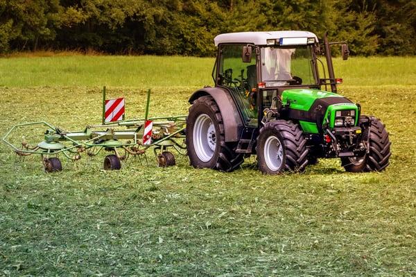 tracteur deutz fahr fanage matériel agricole
