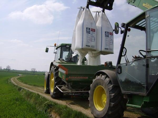 Fertilisation azote minéral épandeur amazone