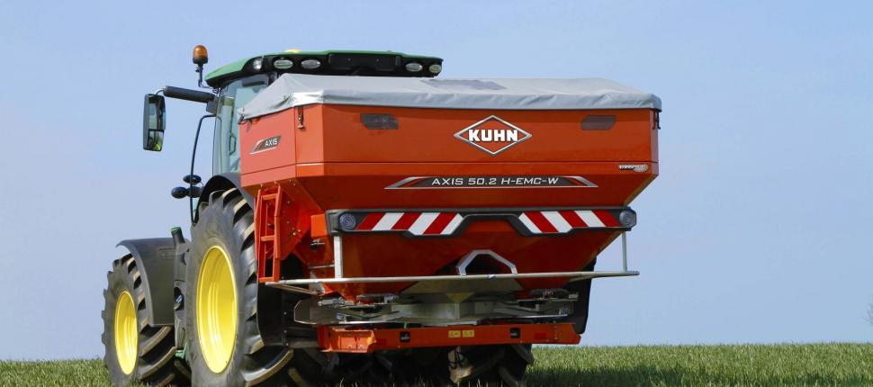 kuhn-axis-epandeur-distributeur-engrais-agricole