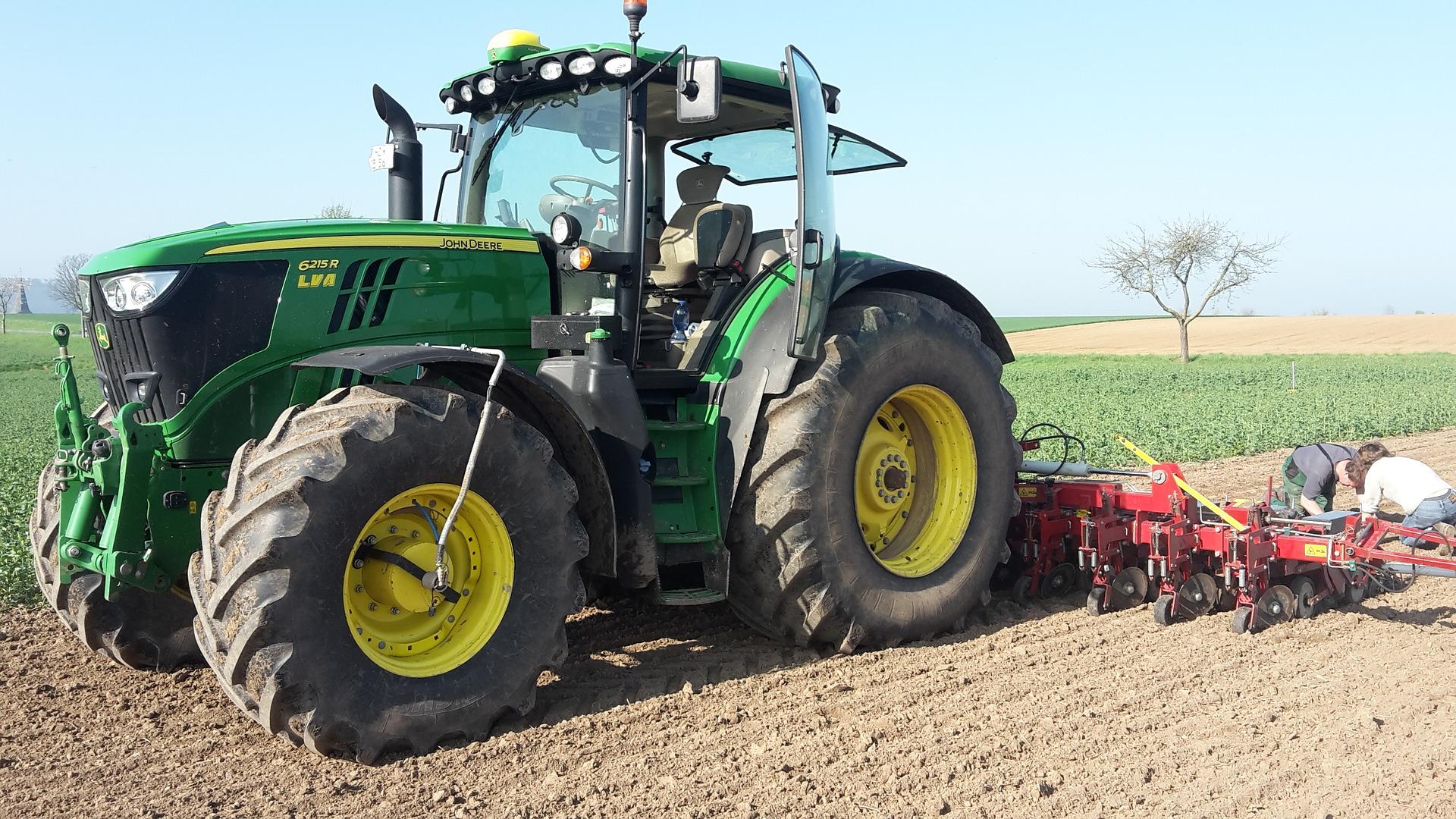 Quel est le coût du télégonflage sur un tracteur agricole ?